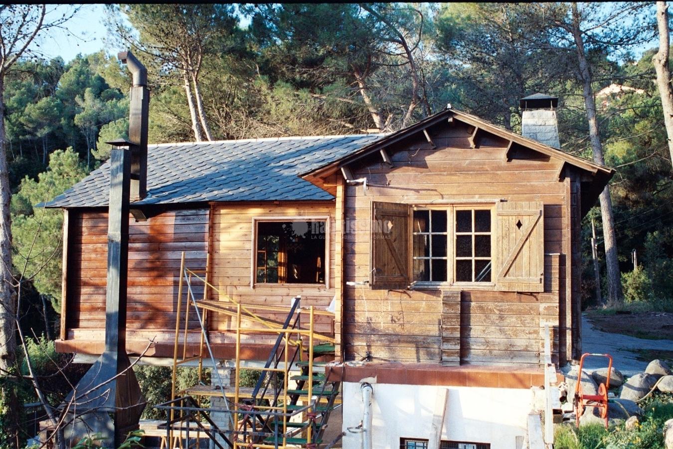 Rehabilitación y restauración de casas de madera