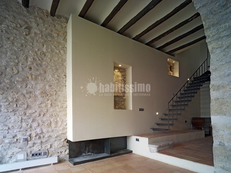 Foto casa unifamiliar en san mateo castell n de estudio - Estudio arquitectura valencia ...