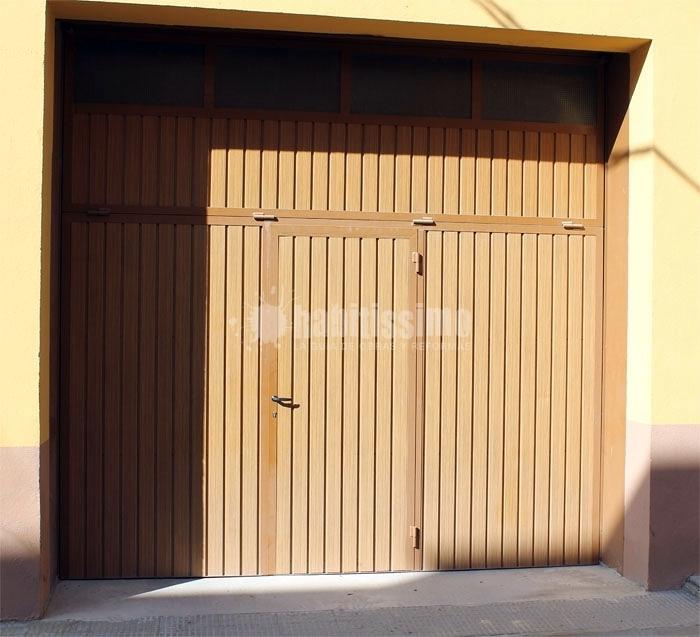 Foto puertas para garajes de met licas hial 114220 for Puertas para garajes