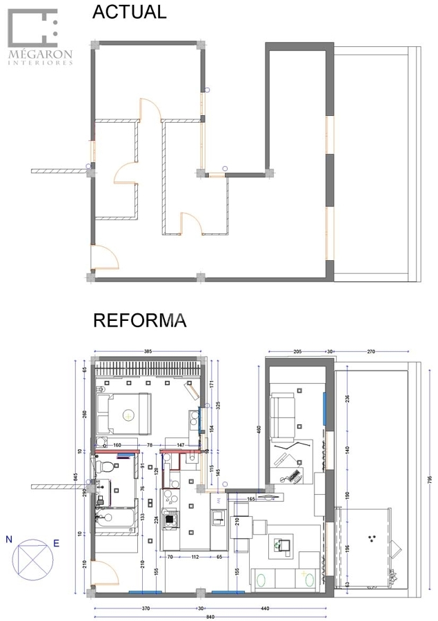 Foto proyecto vivienda calle valencia de m garon - Calle valencia salamanca ...