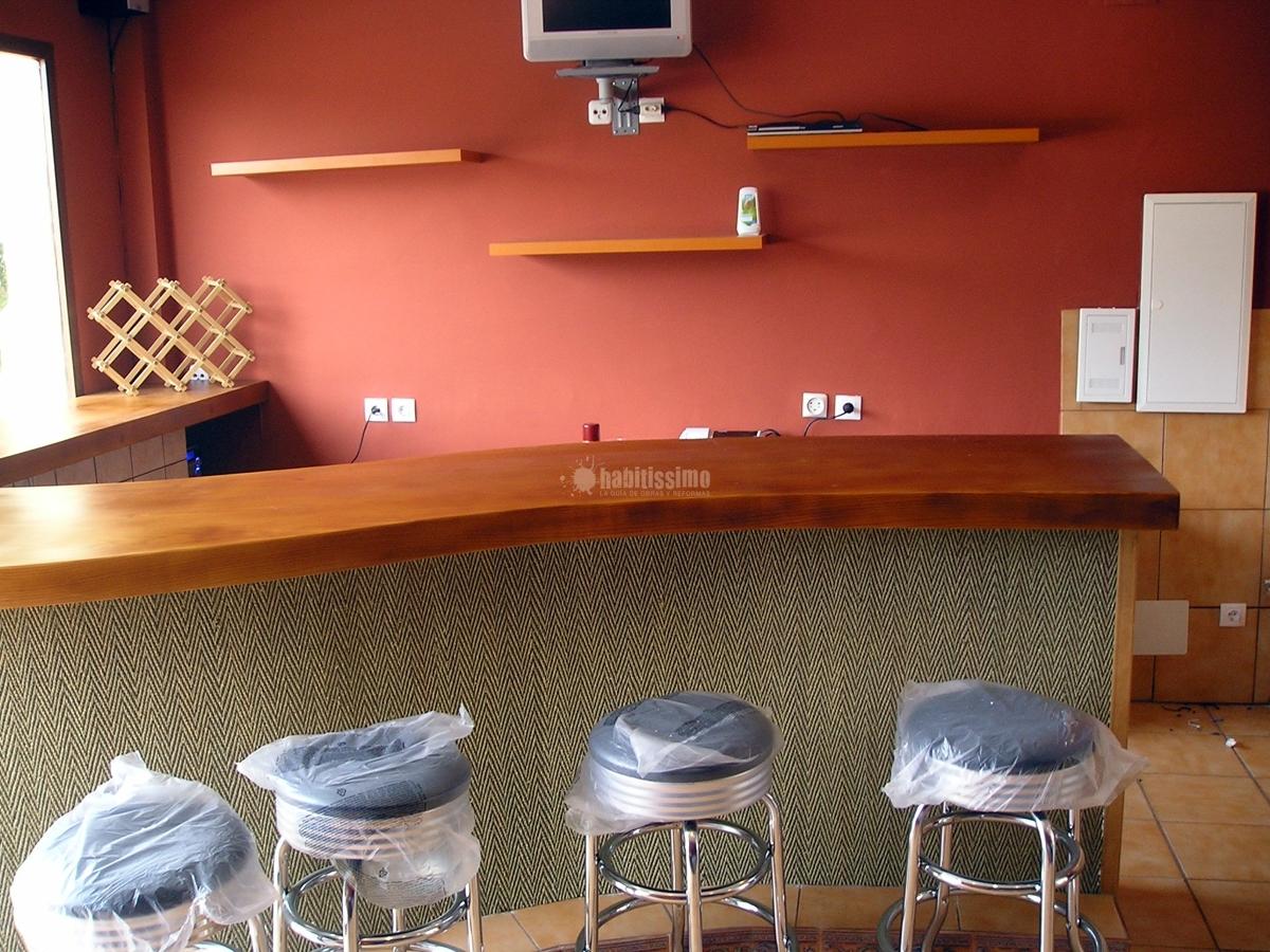 Foto construcci n casas constructores reformas - Barras de bares ...