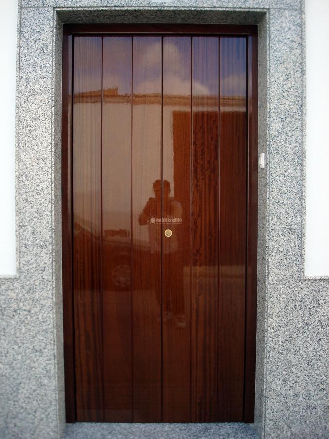 Foto puertas exteriores de carpinter a y ebanister a p ez - Puertas exterior malaga ...