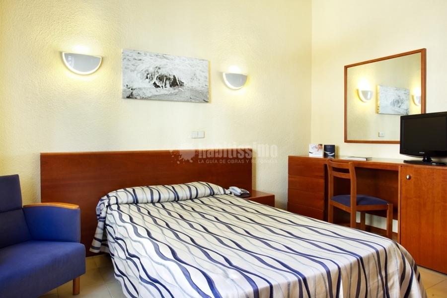 Decoración Hotel Costa Azul. Paseo Marítimo de Palma.