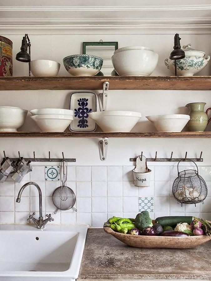 6 claves para transformar tu casa al estilo provenzal - Cocina estilo provenzal ...