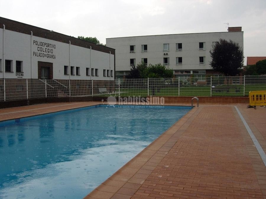 Construcci n de piscina en colegio ideas construcci n for Construccion de piscinas merida