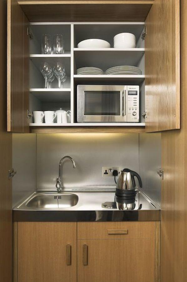 170525 mini cocina 1 para oficin ideas reformas oficinas Cocinas espacios pequenos