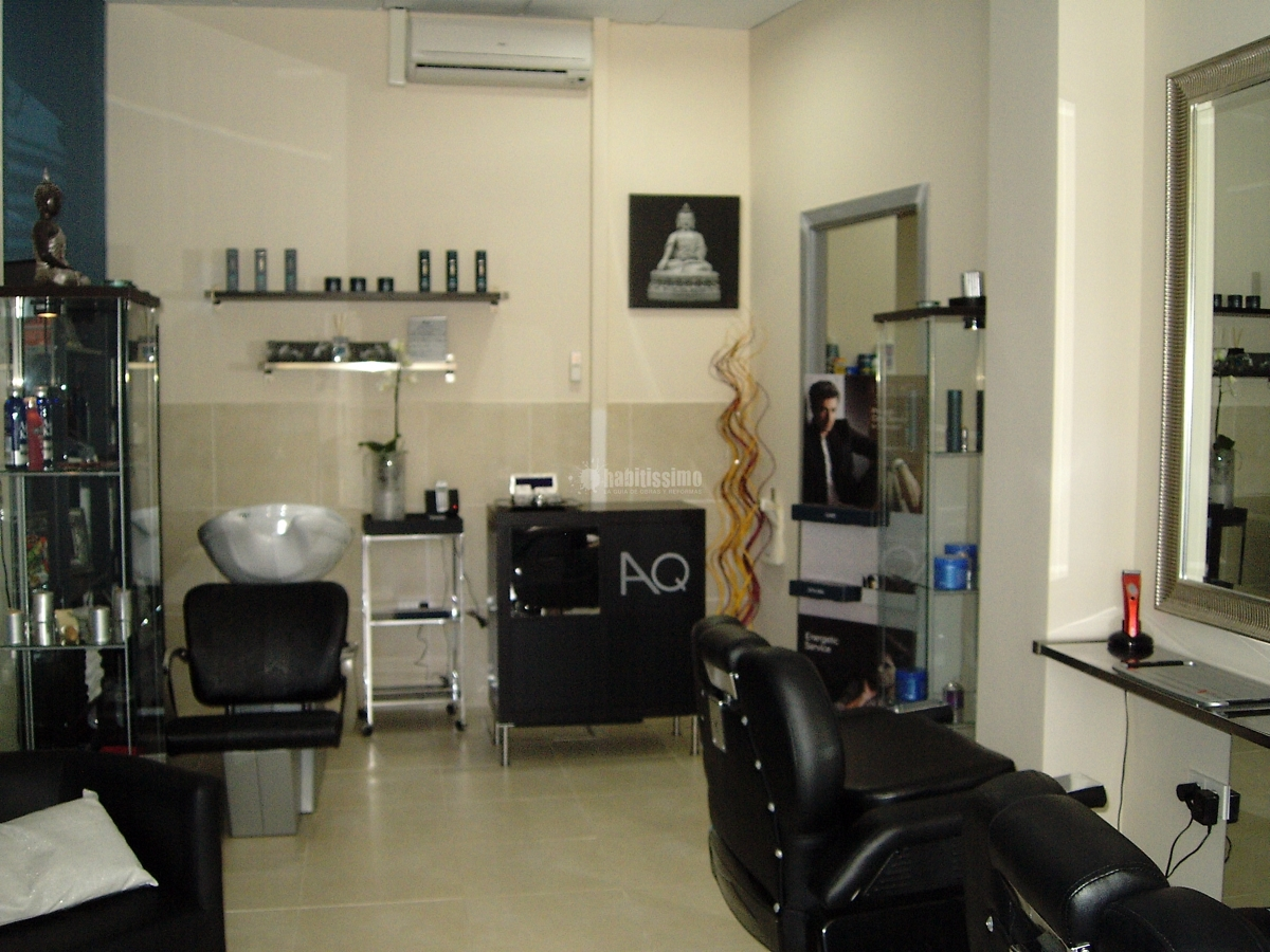 Licencia de apertura de peluquer a de caballeros adri n - Como amueblar una peluqueria ...