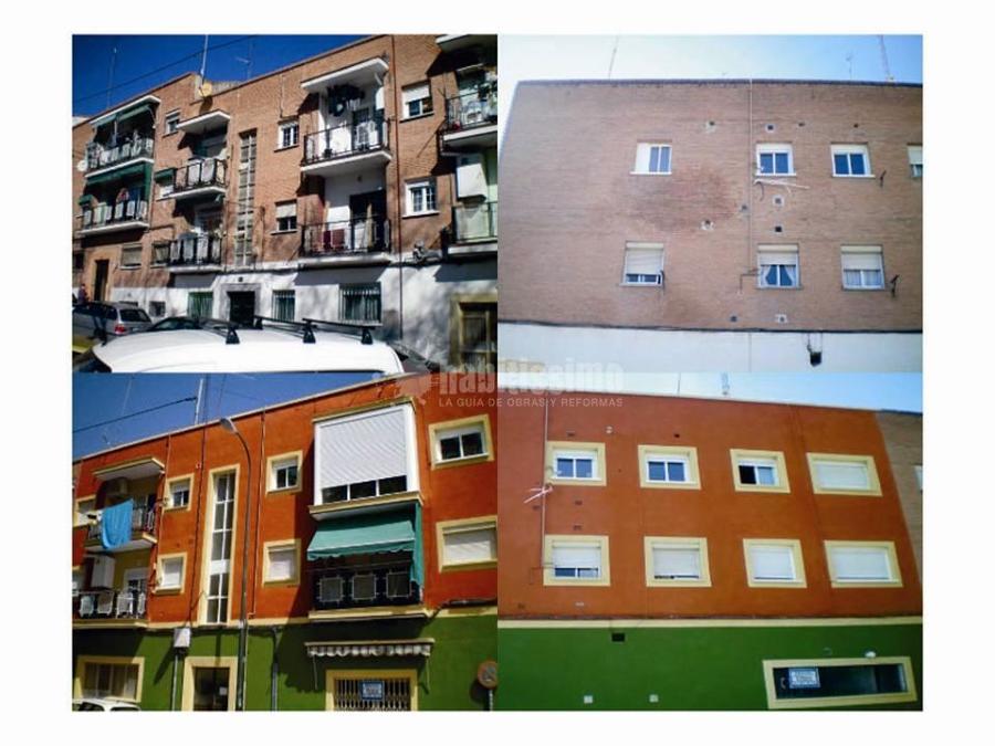 Casa residencial familiar aislamiento de fachadas con - Aislamiento termico para casas ...