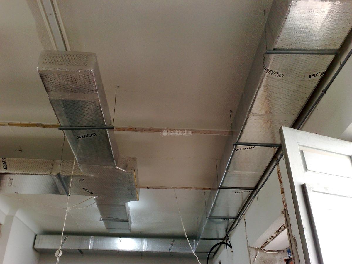 Instalaci n de conductos de fibra de vidrio en oficinas for Aire acondicionado oficina