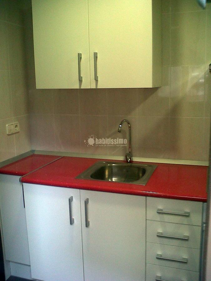 Cambio de uso lavabo x cocina ideas reformas viviendas - Lavabo para cocina ...