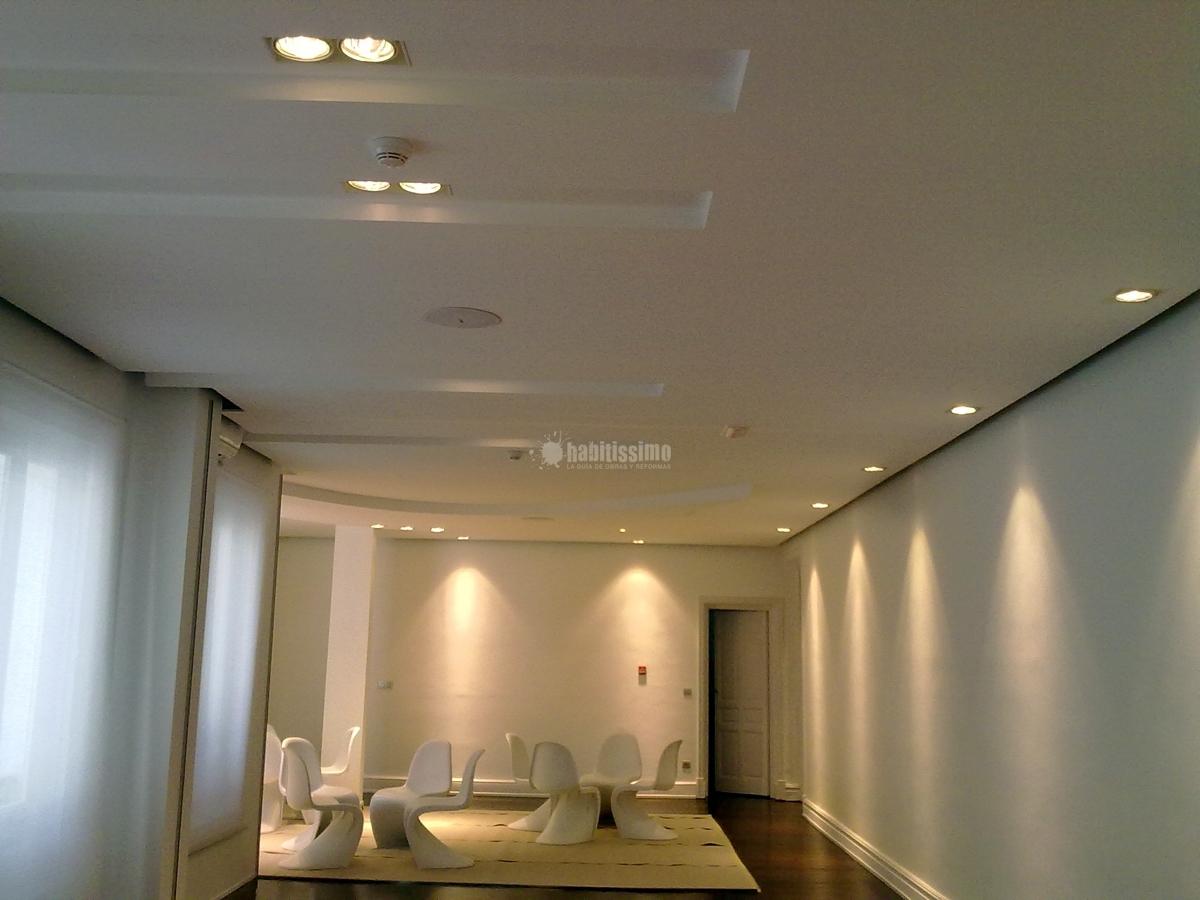 Proyecto de reforma de techos y suministro de iluminaci n for Ideas de iluminacion