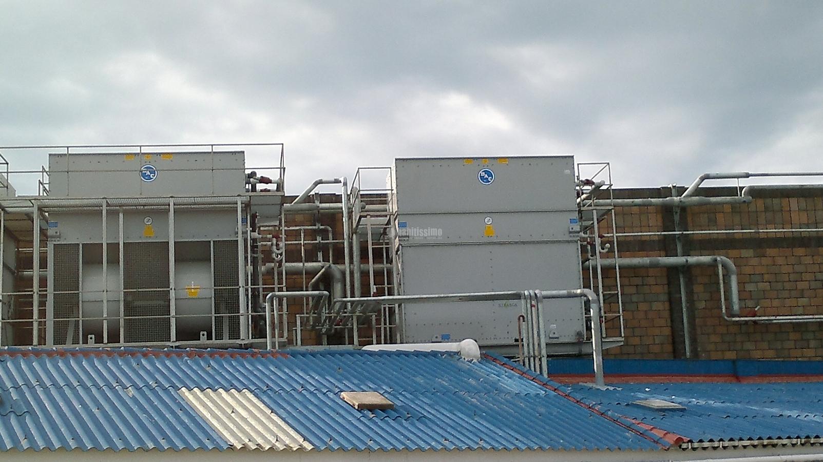 Construcción De Torres Para Maquinas De Refrigeración