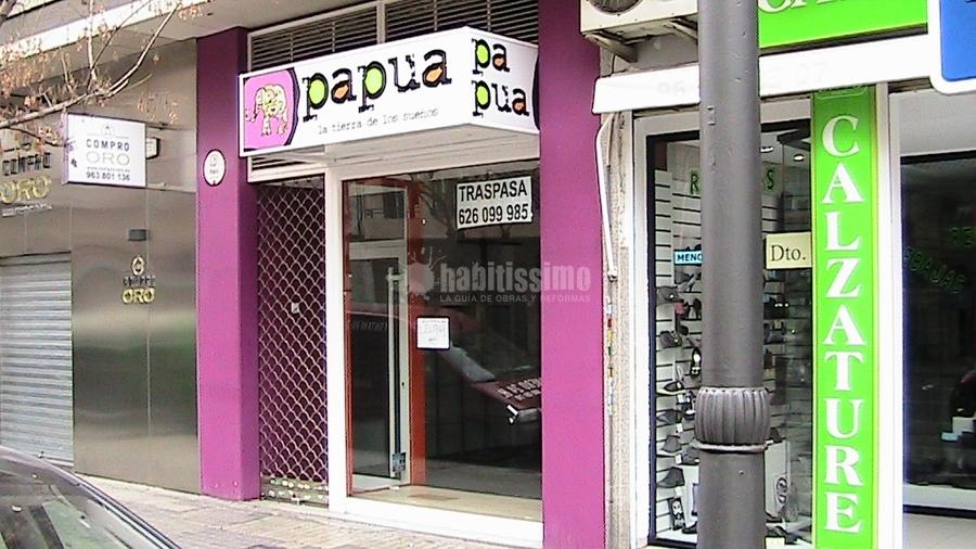 Reforma Completa Local Perfumería en Valencia