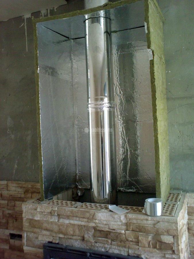 Ejemplo aislamiento chimeneas le a ideas calefacci n - Tipos de calefaccion para casas ...