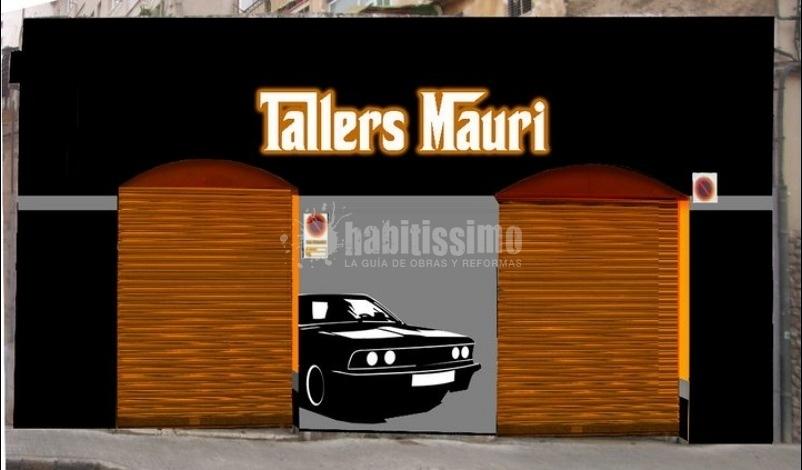 Fachada Graffiti Talleres Mauri