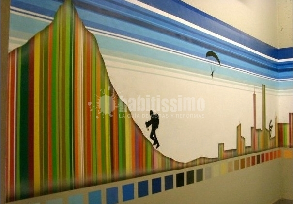 Mural Conselleria d'Educació (Palmarena)