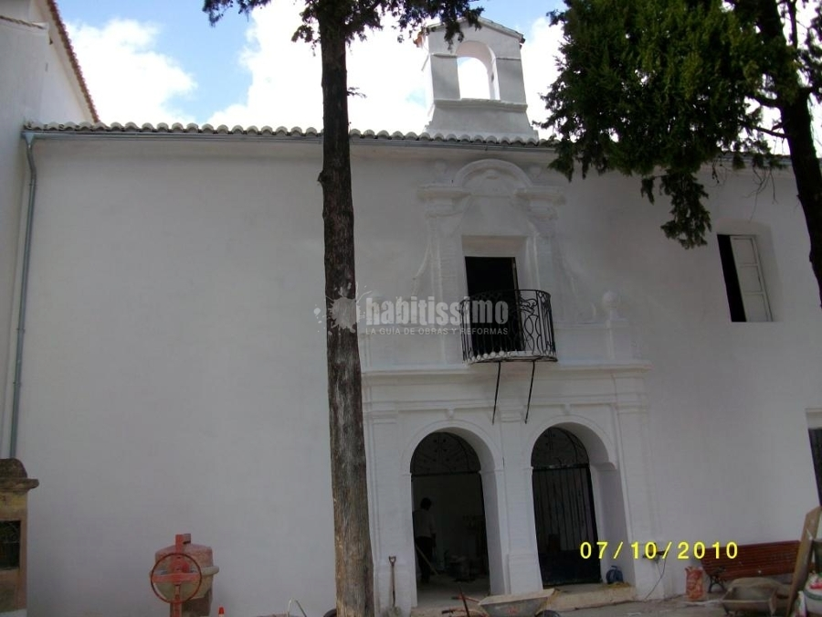 Restauración Ermita De San Cristóbal, Enguera