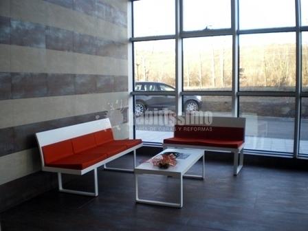 Sala de espera minimalista ideas muebles for Muebles sala de espera
