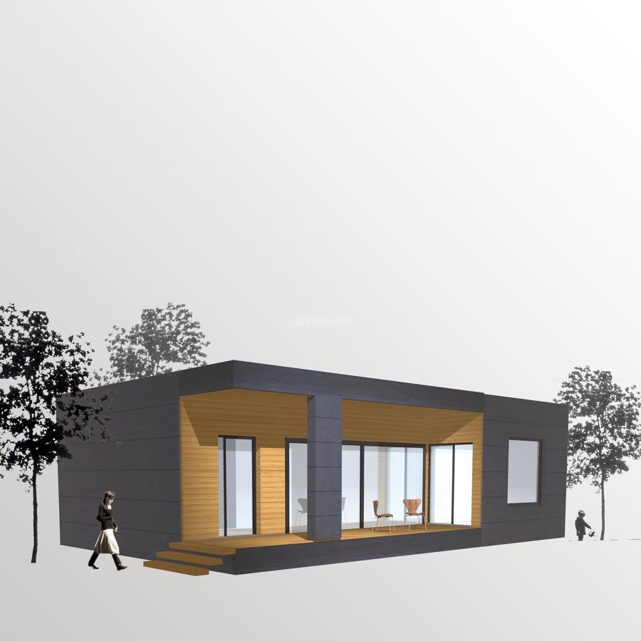 Modelo de vivienda a ideas construcci n casas prefabricadas for Modelos de viviendas