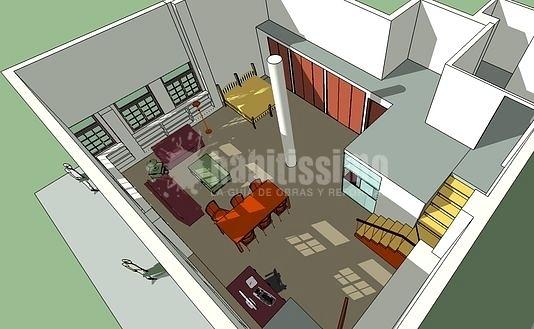 Reforma Interior De Local Para Convertirlo En Vivienda Tipo Loft