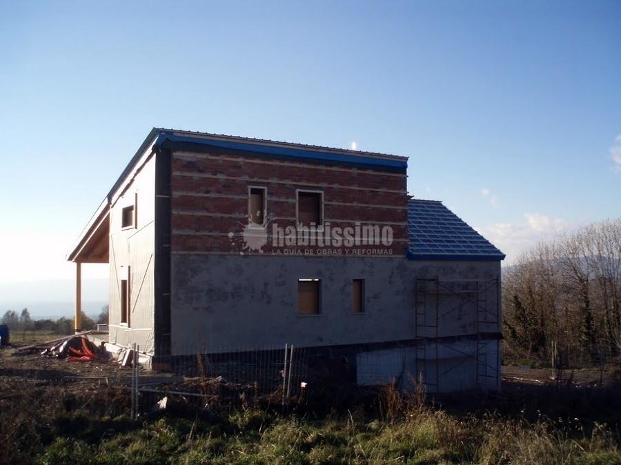 Casa con estructura de madera ideas arquitectos - Estructura casa de madera ...