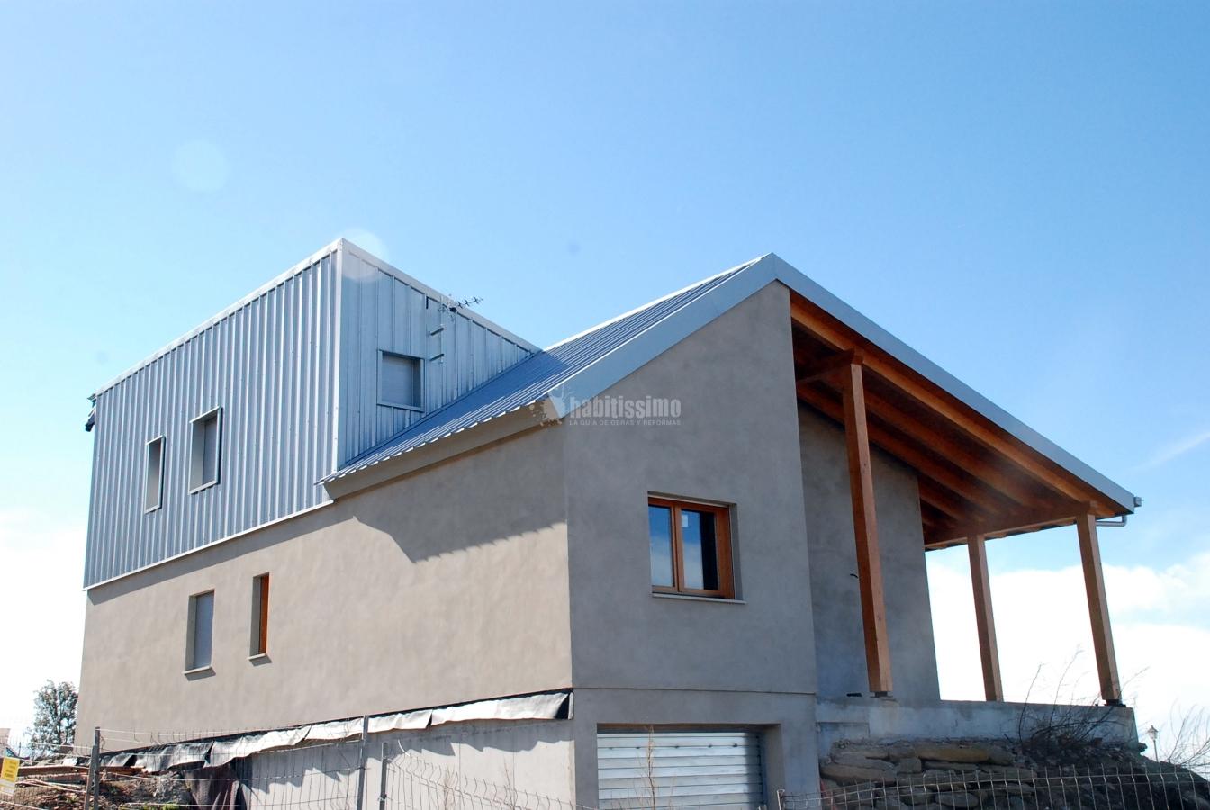 Casa con estructura de madera ideas arquitectos - Casas con estructura de madera ...