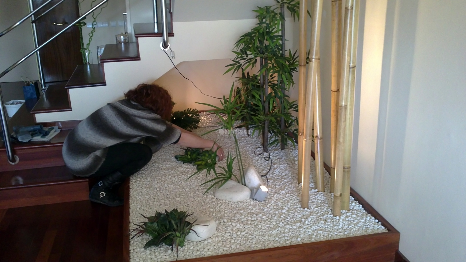 Foto jardinera interior de fusta i jardi palau 117570 - Jardineras para interiores ...