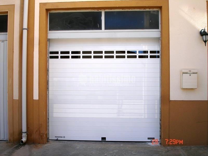 Sustitución De Puerta De Garaje Por Persiana Aluminio