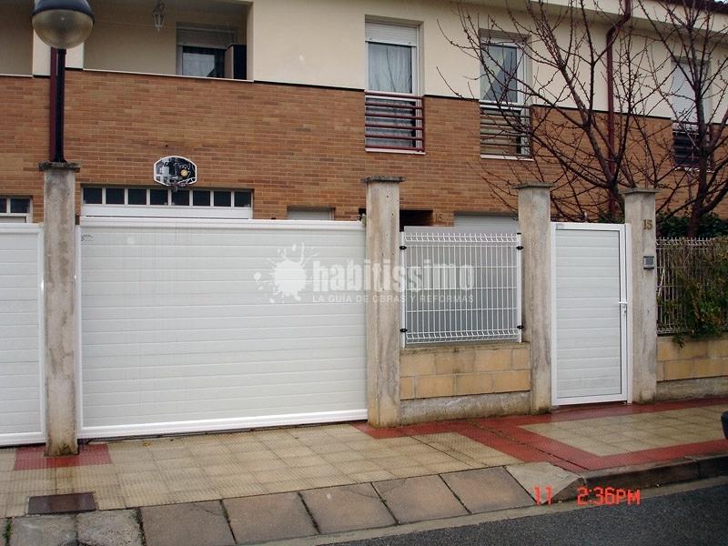 Instalaci n puertas de garaje ideas puertas garaje for Garaje de ideas