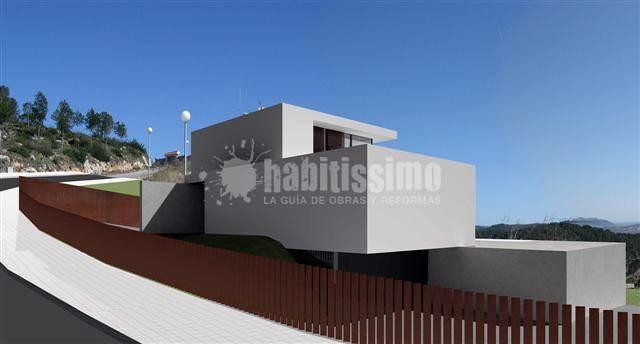 Vivienda unifamiliar en sitges ideas arquitectos - Arquitecto sitges ...