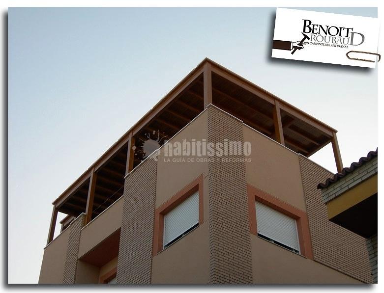 Cerramiento De Terraza, Construcción De Casa De Madera