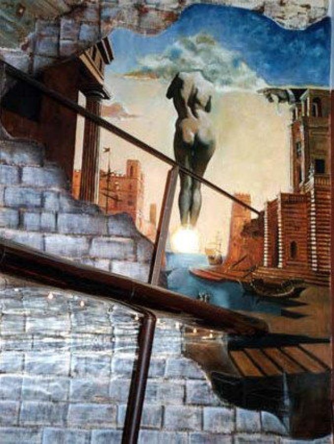 1998: Murales Discoteca Barroco, (30m2), Puerto de Santa María,(Cádiz).