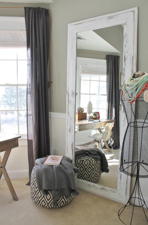 salón con espejos