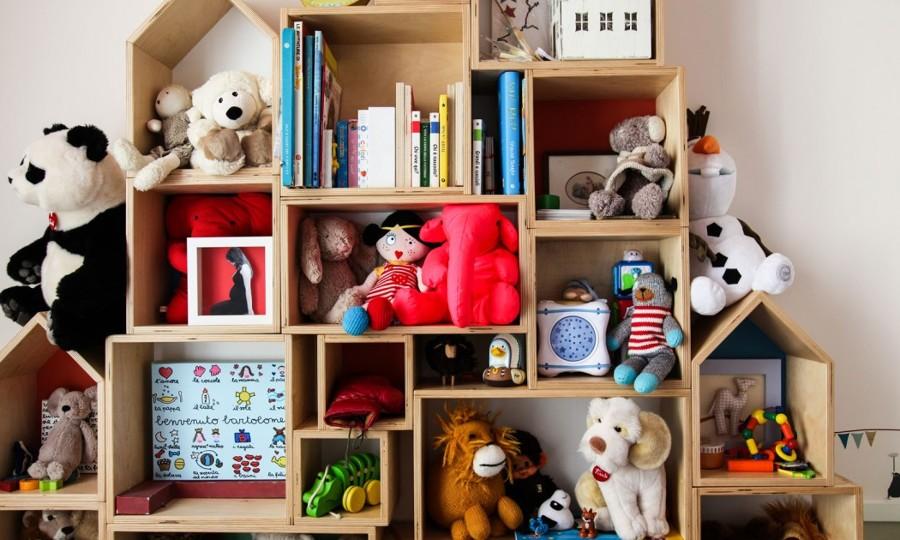 Foto estanter a infantil para guardar juguetes de - Estanterias para guardar juguetes ...