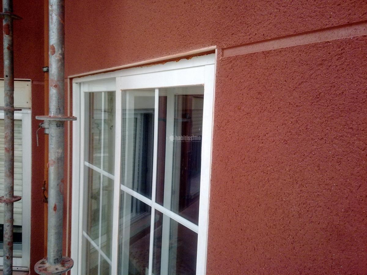 Rehabilitacion fachada con mortero monocapa ideas - Fachadas con monocapa ...