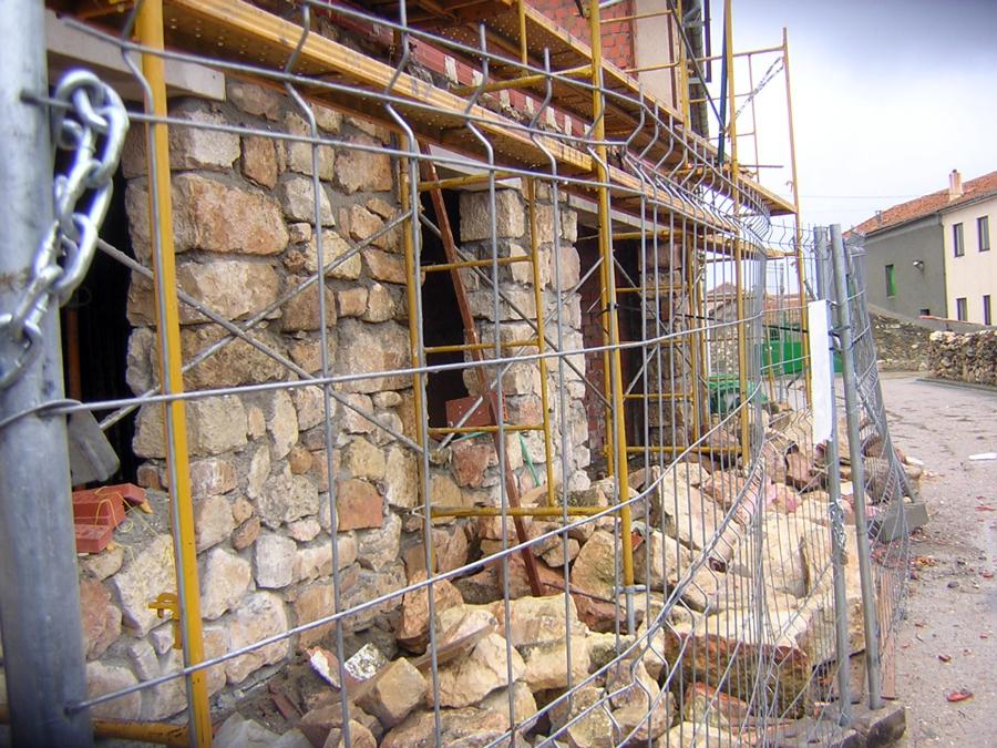 Foto 2008 construccion de casa de piedra de santiago - Construccion casas de piedra ...