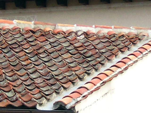 2008 Construccion de vivienda Detalle tejado casa invitados