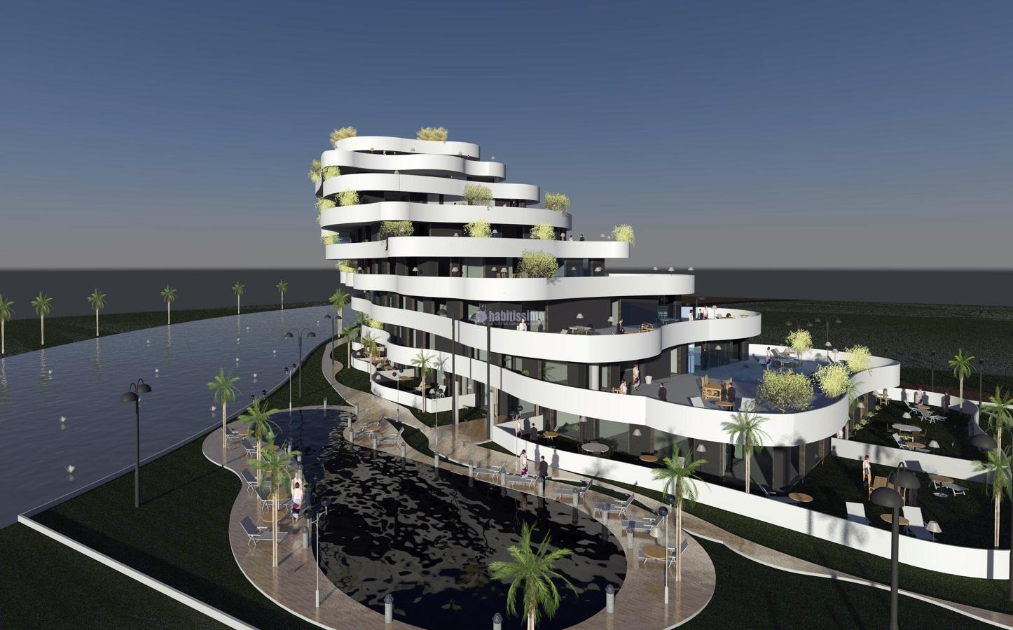 Foto edificio residencial en al zorah ajman emiratos - Edificios minimalistas ...
