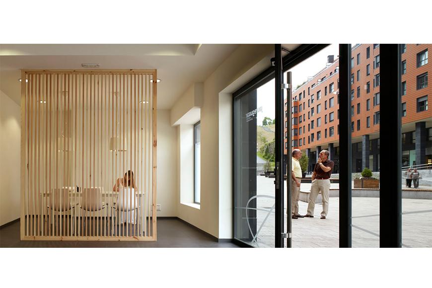 211 viviendas en Plaza del Gas Bilbao 13