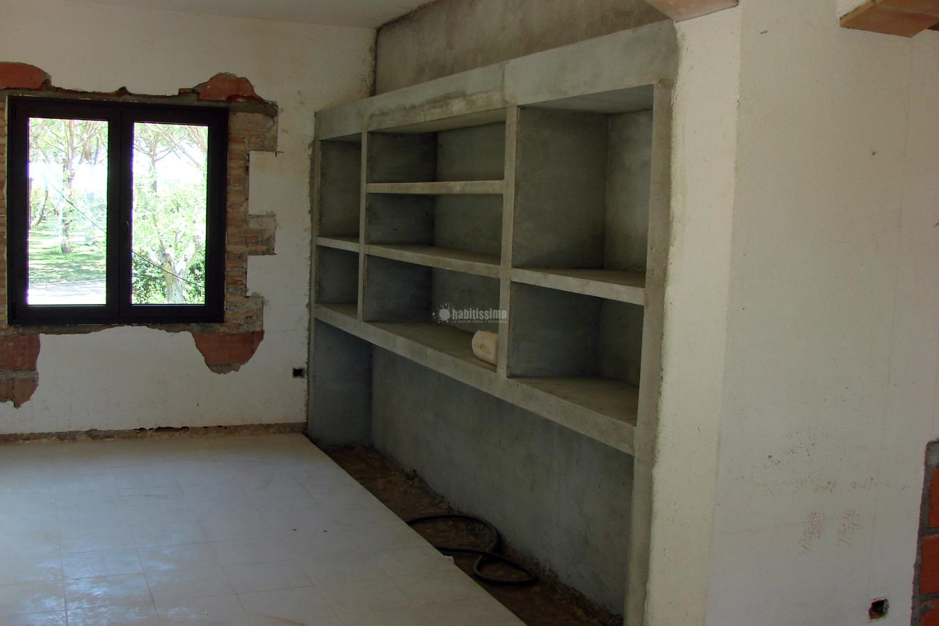 Cemento pulido a casa a l 39 empord ideas alba iles - Bano cemento pulido ...