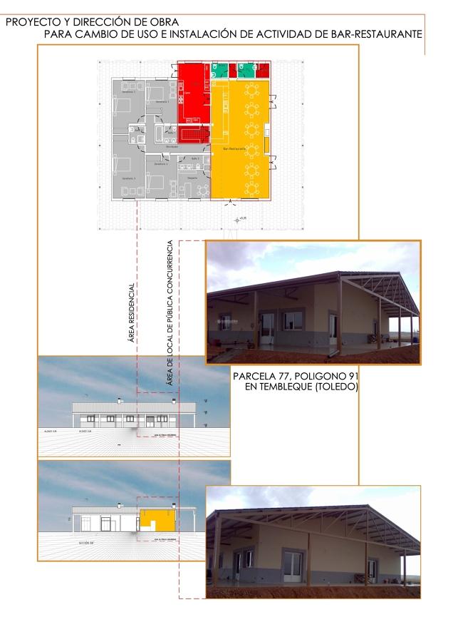 Proyecto y Dirección de Obras. Vivienda Club en Tembleque. (Toledo)