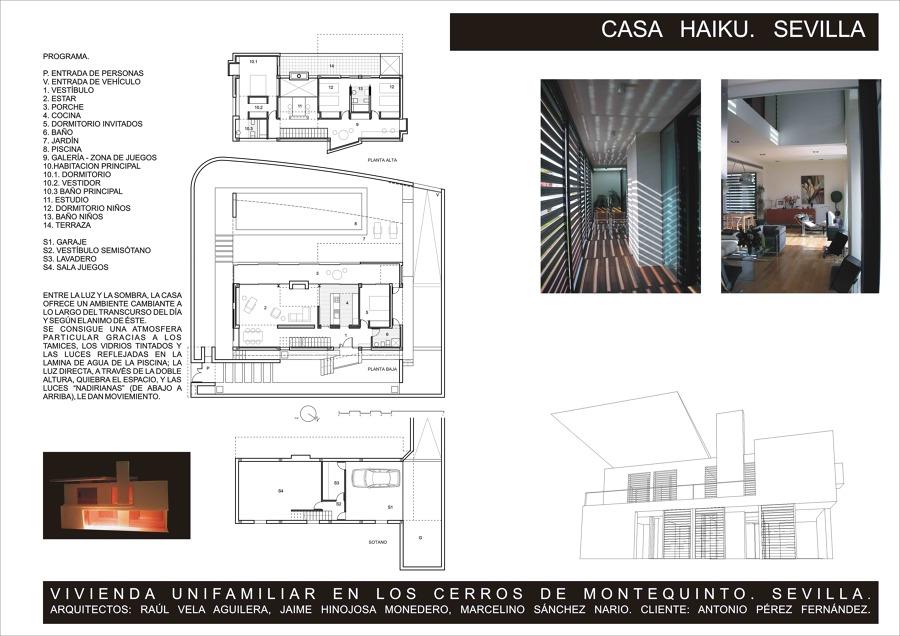 Casa haiku ideas arquitectos - Casas en montequinto ...