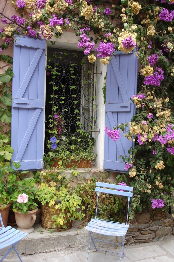 ventana azul