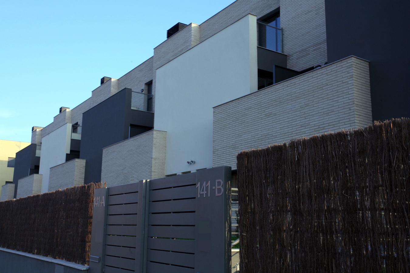 36 viviendas en Barcelona fachada Oeste
