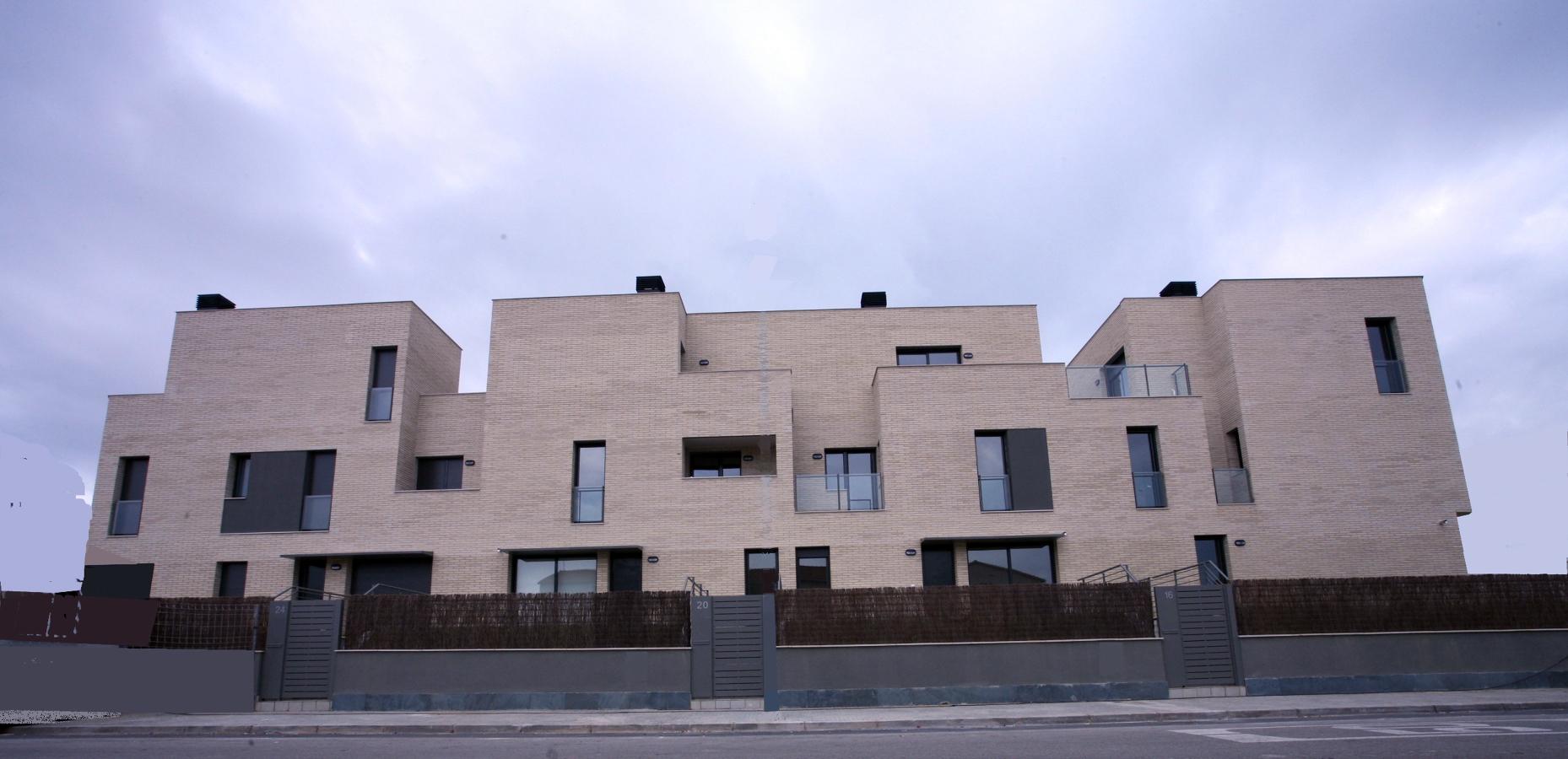 36 viviendas en Barcelona fachada sur