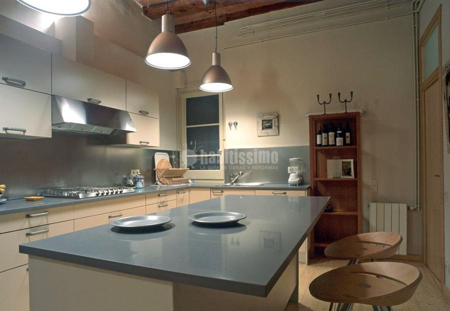 Reforma de cocina en el barrio g tico de barcelona ideas - Reforma cocina barcelona ...