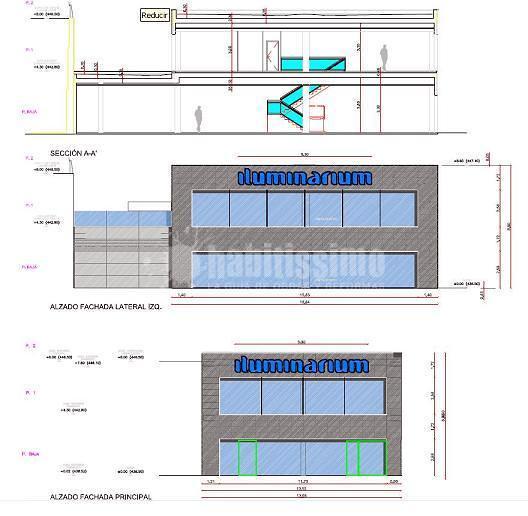 Habilitación y licencia de actividad de nave comercial dedicada a tienda de iluminación en Cordovilla (Navarra)