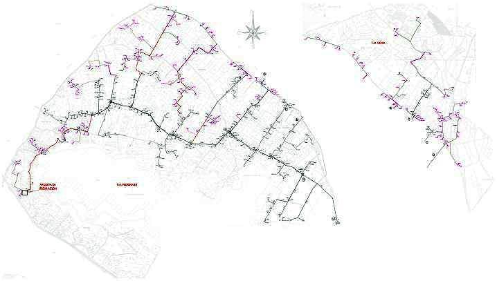 Proyecto Modificado de la instalación de red de riego localizado en la zona V en Pedreguer (Alicante)