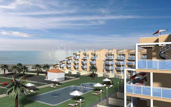 Proyecto de ejecución y legalización de instalación de edificio de 74viviendas, piscina comunitaria y garaje en Alcossebre-Alcalá de Xivert (Castellón)