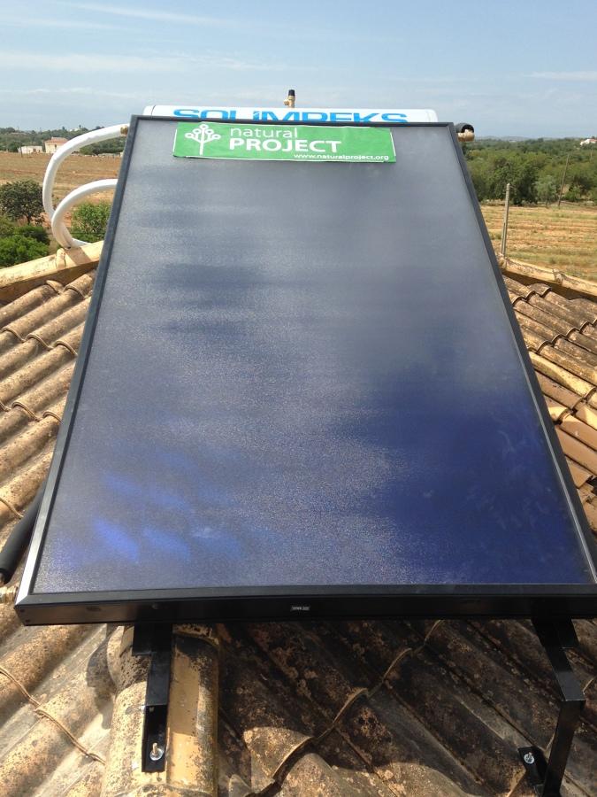 Placas solares para agua caliente ideas energ as renovables - Placas solares agua caliente ...